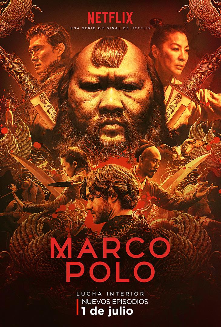Póster de la segunda temporada de Marco Polo