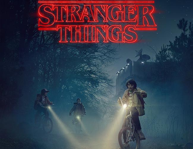 Póster de Stranger Things, de Netflix destacada