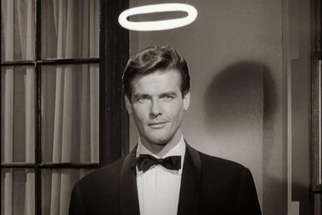 Roger Moore en la mítica serie El Santo destacada