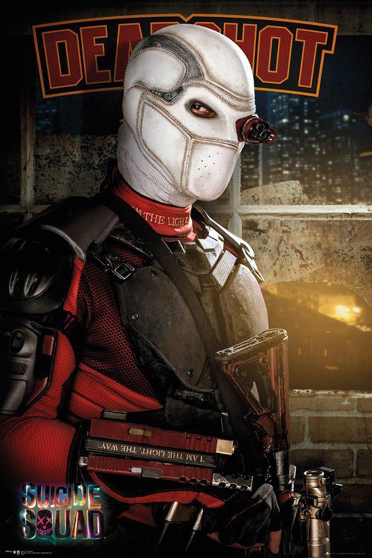 Póster de Deadshot de Escuadrón Suicida