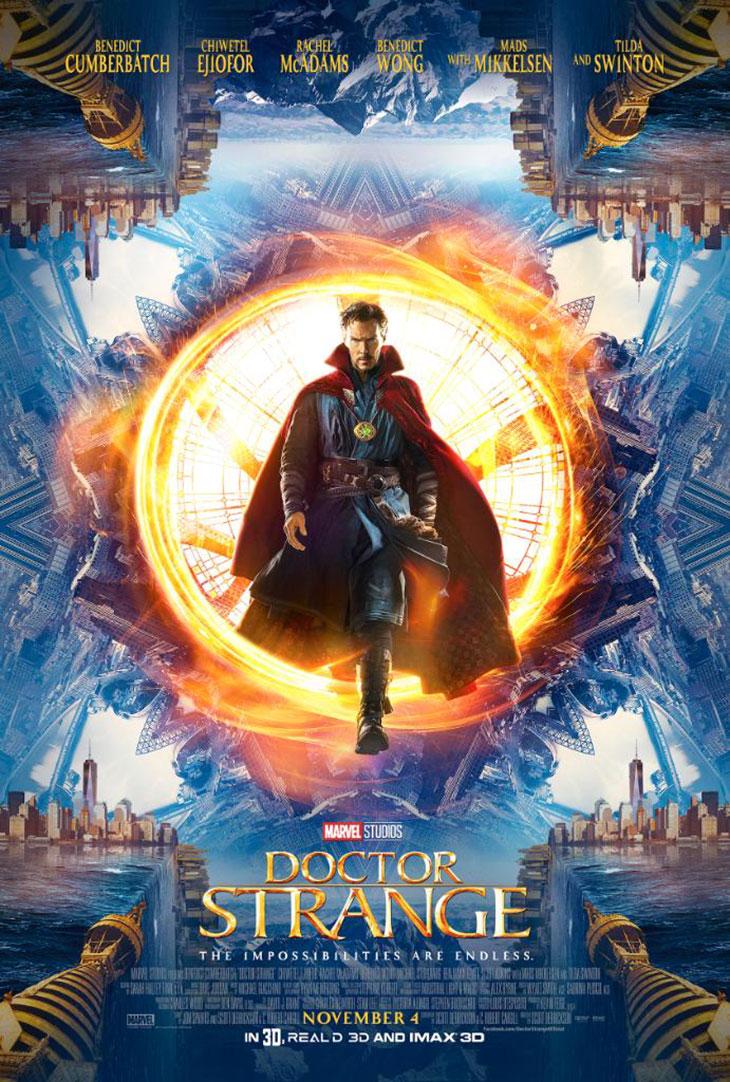 Póster Doctor Strange de Marvel