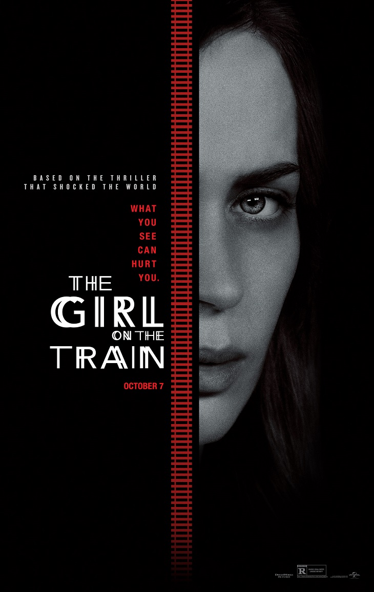 Póster de 'La chica del tren'