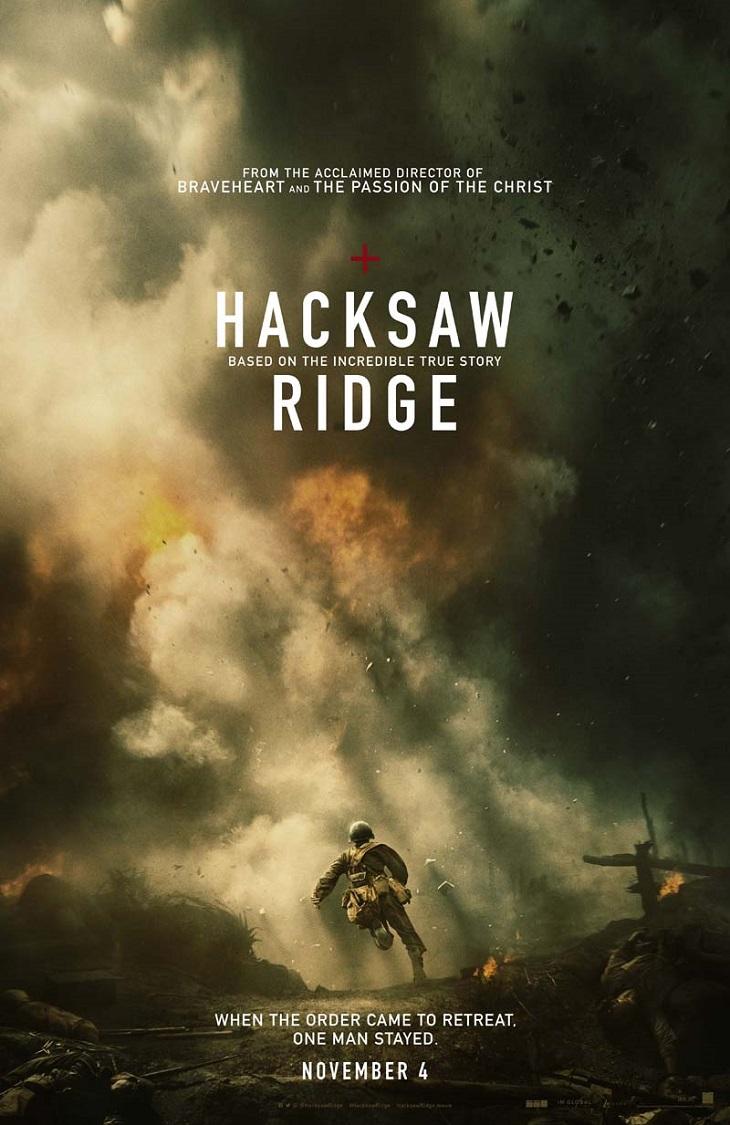 Póster de 'Hacksaw Ridge'