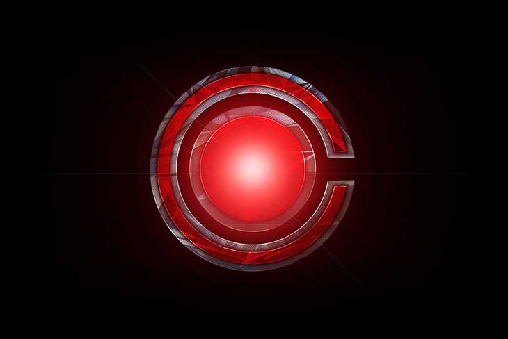 Justice League Logo Cyborg