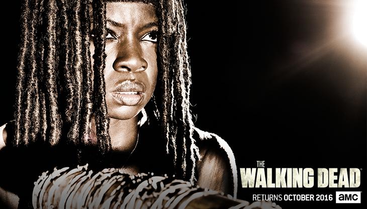 Michonne se enfrenta a momentos difíciles en 'The walking dead'