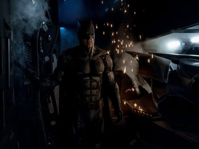El traje táctico de Batman en 'Justice League' destacada