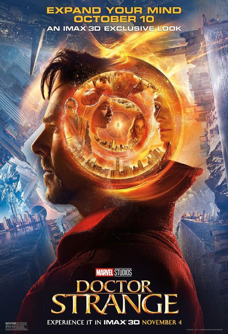 Póster IMAX de Doctor Extraño (Doctor Strange)