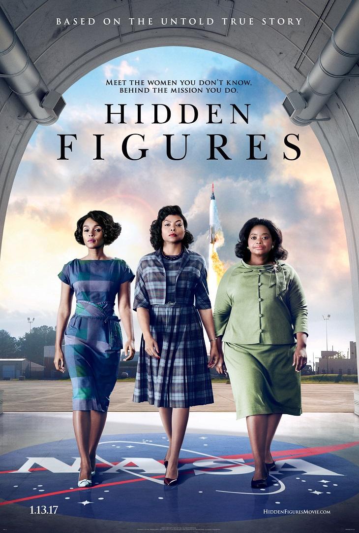 Póster de 'Hidden Figures'
