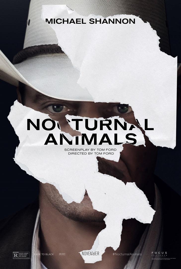 Póster de 'Nocturnal Animals' para Michael Shannon