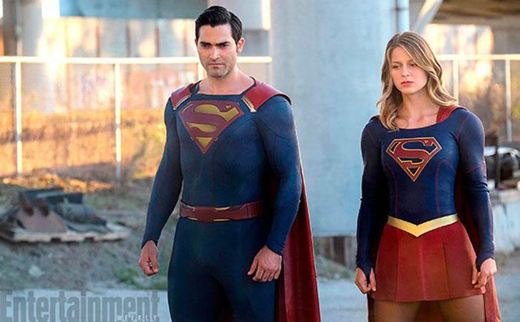 Tyler Hoechlin como Superman