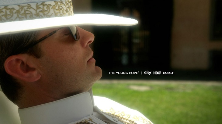 'The young pope' con Jude Law