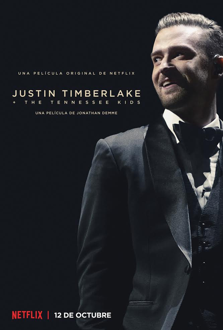 tráiler y el póster oficial de 'Justin Timberlake + The Tennessee Kids'
