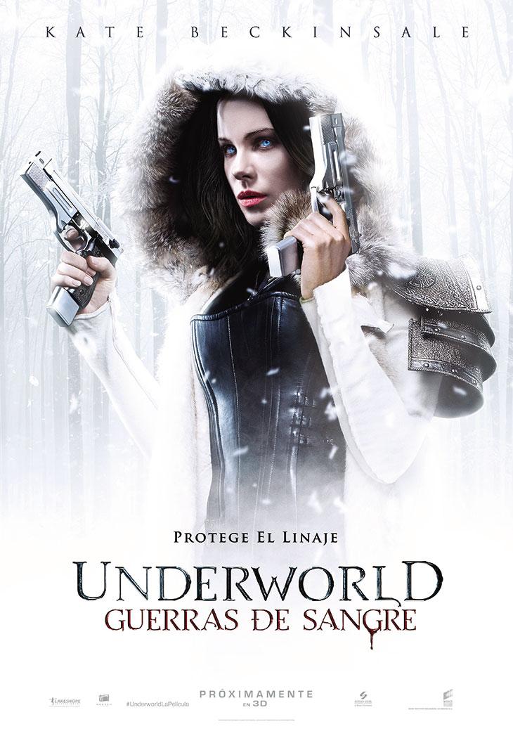 Póster en español de Underworld: Guerra de sangre