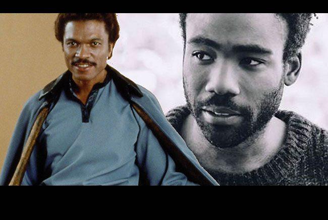 Donald Glover será el joven Lando Calrissian destacada