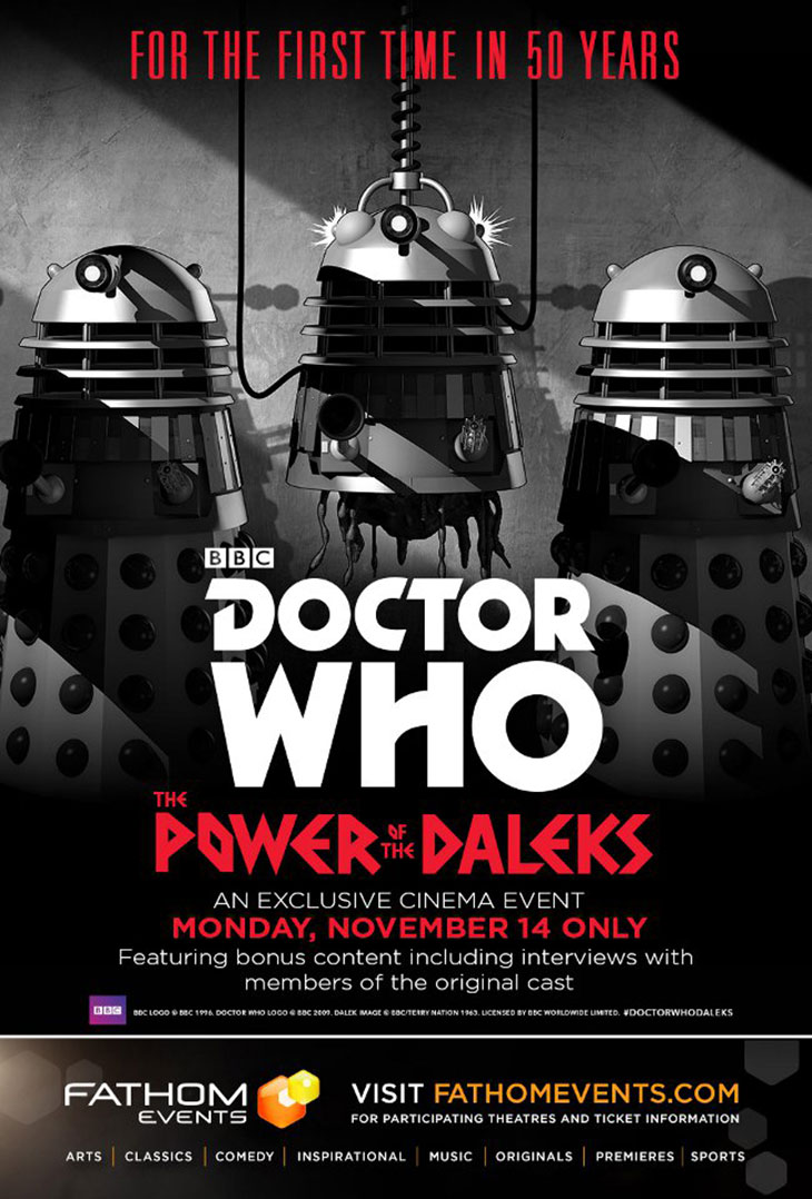 Póster de The Power of The Daleks
