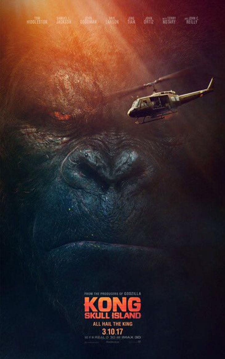 Nuevo póster de Kong: Skull Island