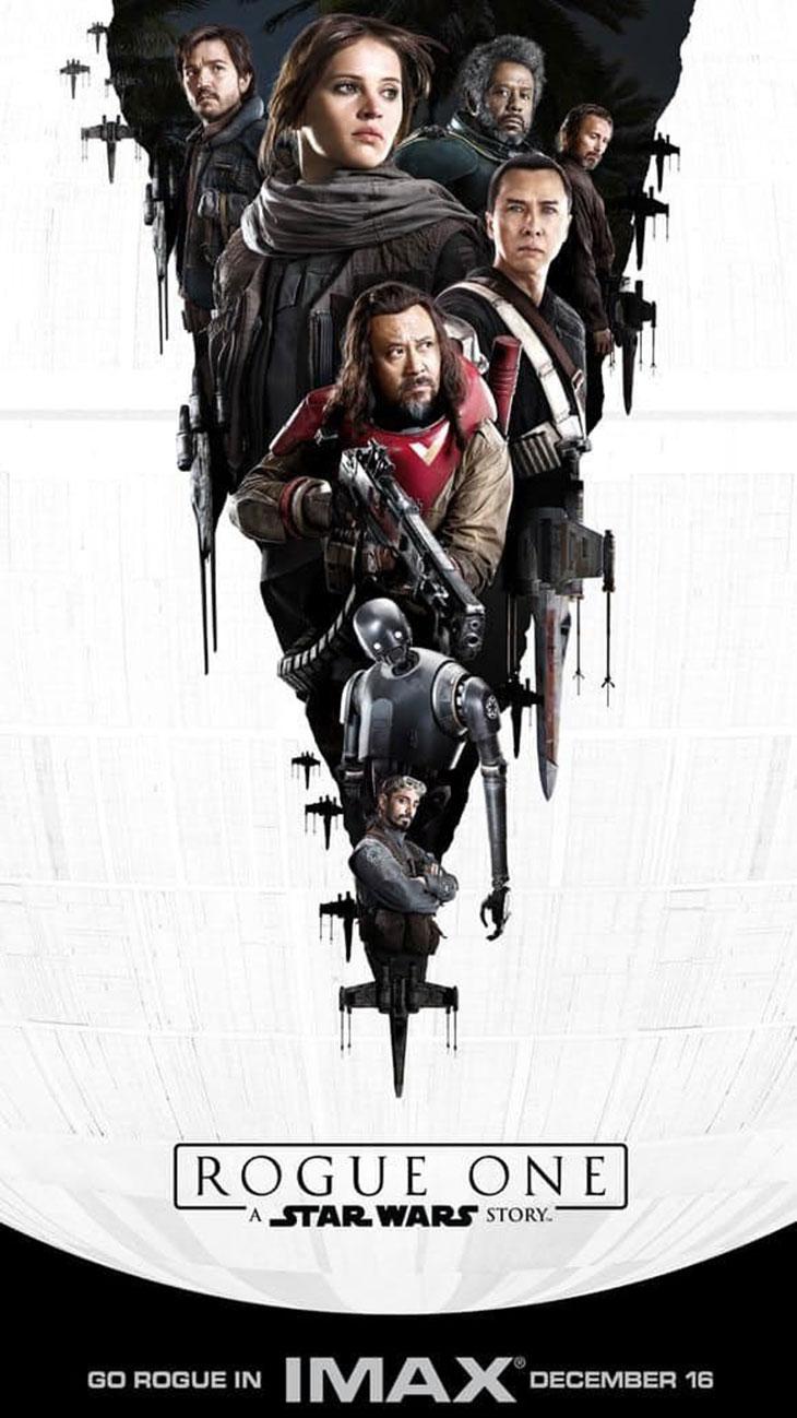 Póster IMAX de Rogue One