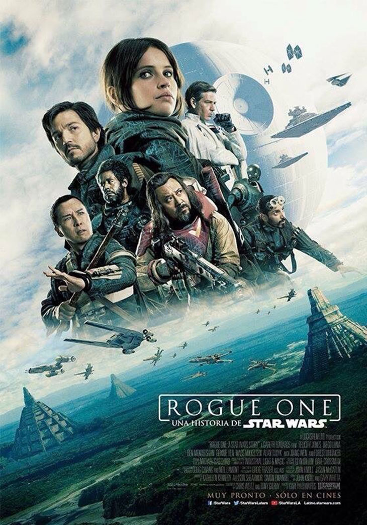 Rogue One: Una historia de Star Wars (2016) [DVDRip] [LATINO]