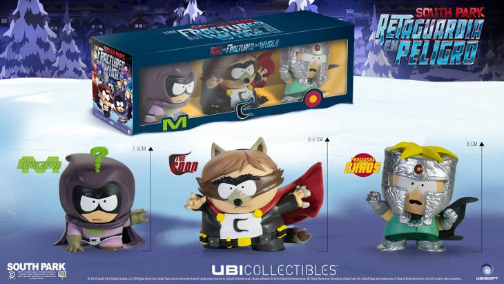 Las figuras oficiales de 'South Park: Retaguardia en peligro' de Ubicollectibles ya están disponibles en Ubisoft Store