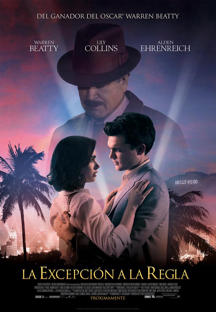 Warren Beatty dirige y protagoniza 'La excepción a la regla', con Lily Collins y Alden Ehrenreich. Estreno el 3 de febrero