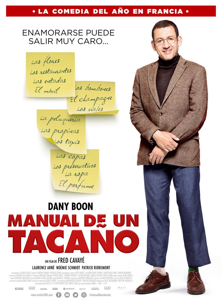 Cartel definitivo y el tráiler en castellano de 'Manual de un tacaño' la mejor comedia Francesa del 2016.