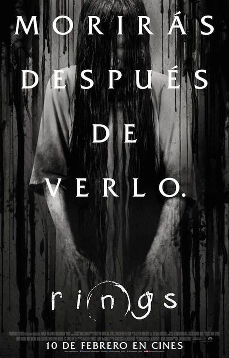 Nuevo póster en español de Rings