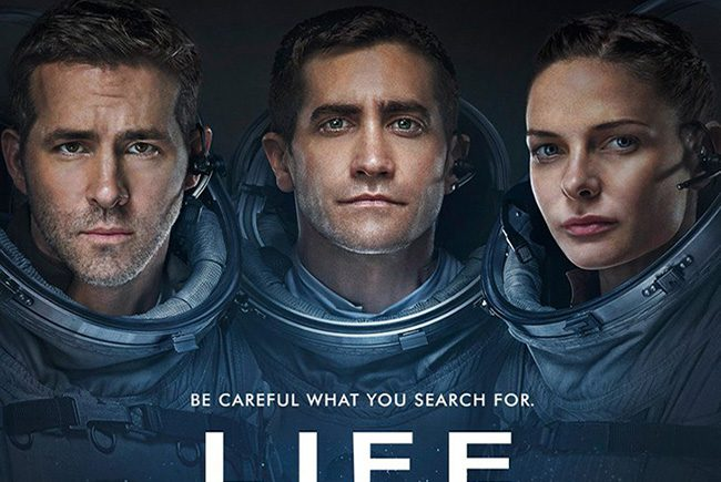 Nuevo tráiler de 'Life' ('vida') la aventura espacial de Jake Gyllenhaal, Rebecca Ferguson y Ryan Reynolds