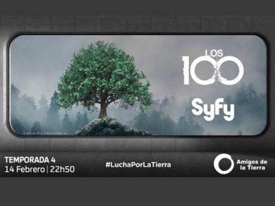 Syfy lucha por la tierra y lanza Una acción en Facebook con motivo del estreno de la cuarta temporada de 'Los 100'.