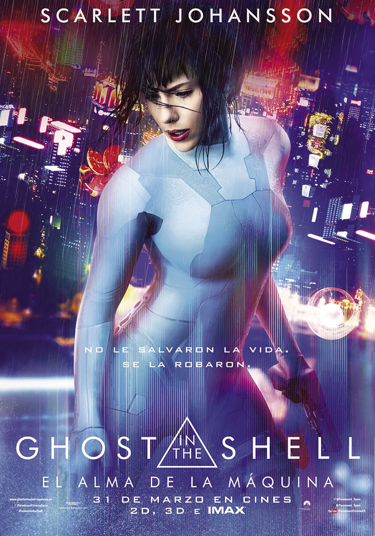 Póster de 'Ghost in the Shell: el alma de la máquina'