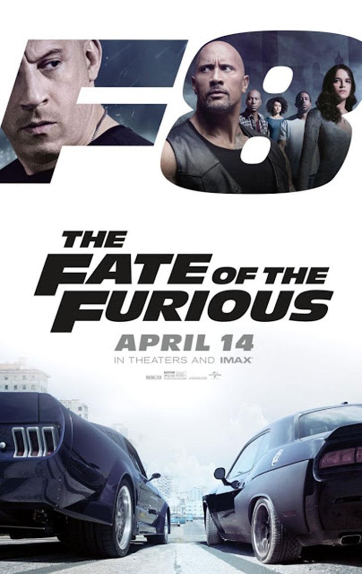 Póster de 'Fast & Furious 8'