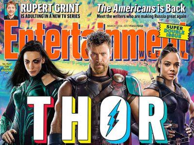 Portada de EW de Thor: Ragnarok destacada