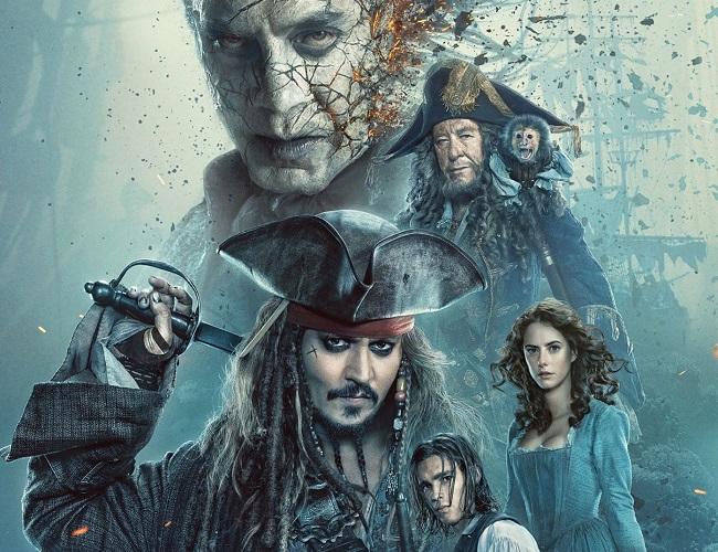 Johnny Depp es rejuvenecido en la quinta entrega de