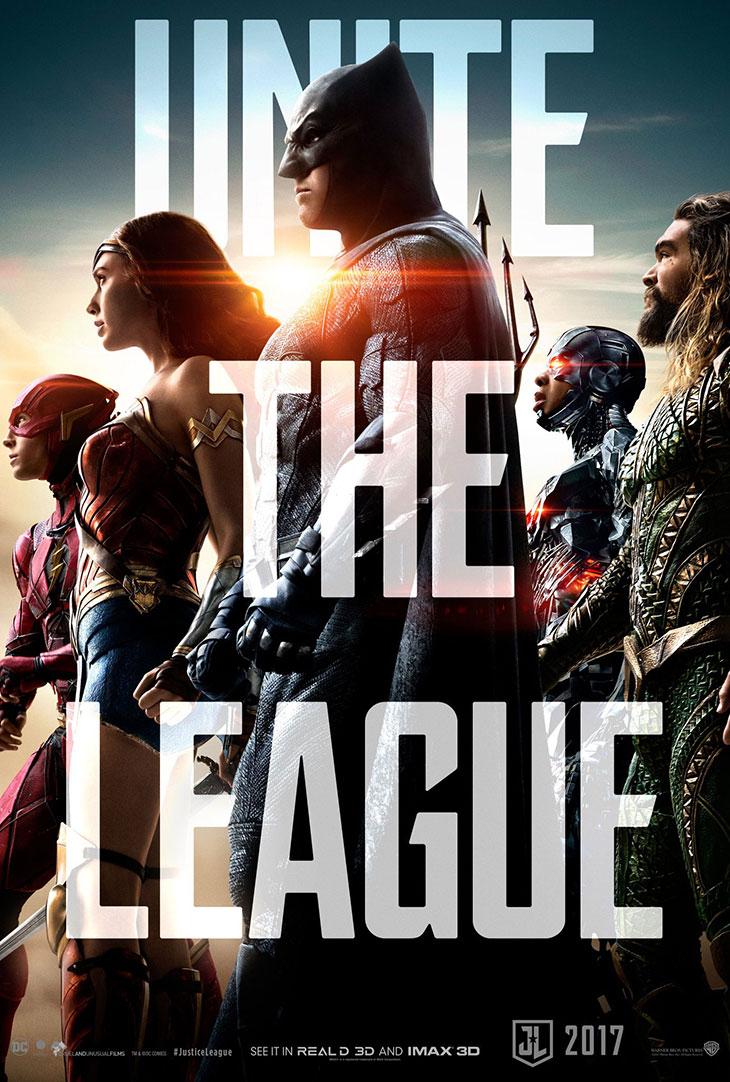 Póster de 'La Liga de la Justicia'