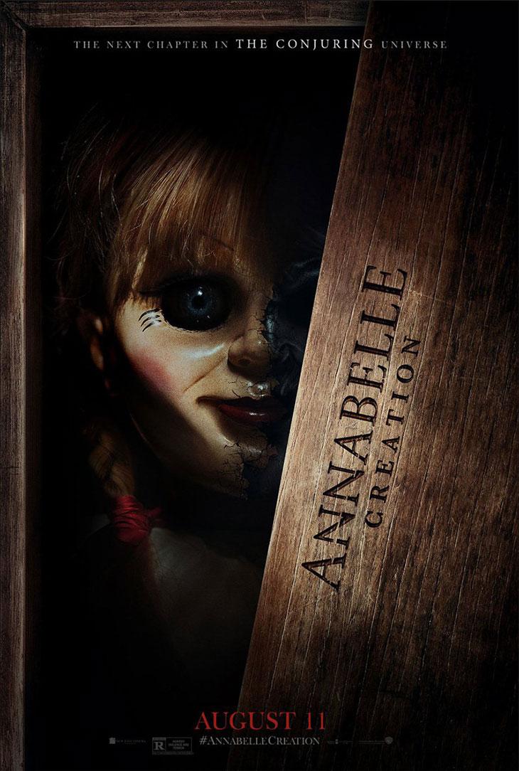 Nuevo póster de Annabelle: la creación