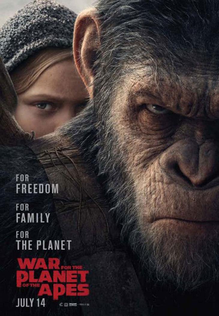 Nuevo póster de La Guerra del Planeta de los Simios