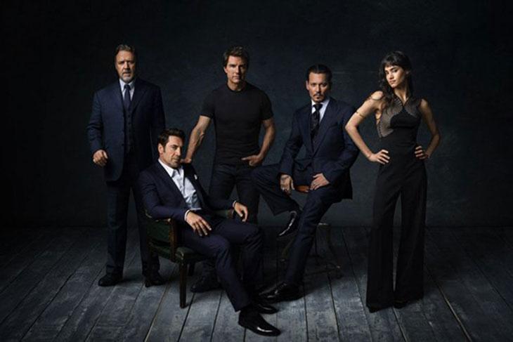 Los actores detrás del Dark Universe