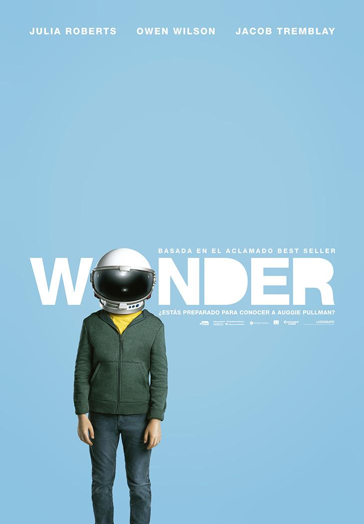 Cartel en español de 'Wonder'