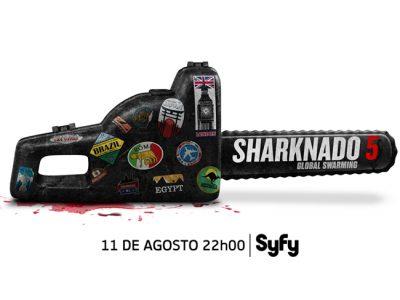 'Sharknado 5: global swarming' llegará a syfy españa el próximo 11 de agosto