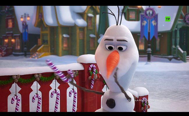 una imagen de Frozen: una aventura de Olaf destacada