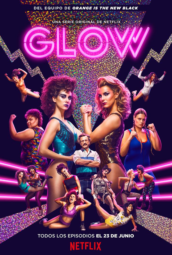 Nuevo póster de Glow