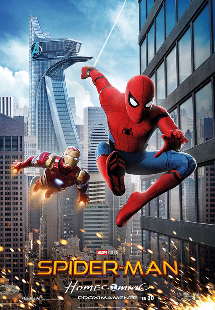 Cartel final en español de 'Spider-Man: Homecoming'