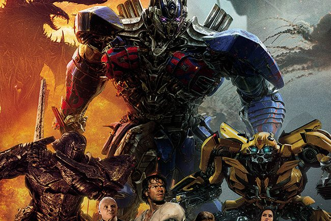 Póster definitivo en español de 'Transformers: el último caballero' destacada
