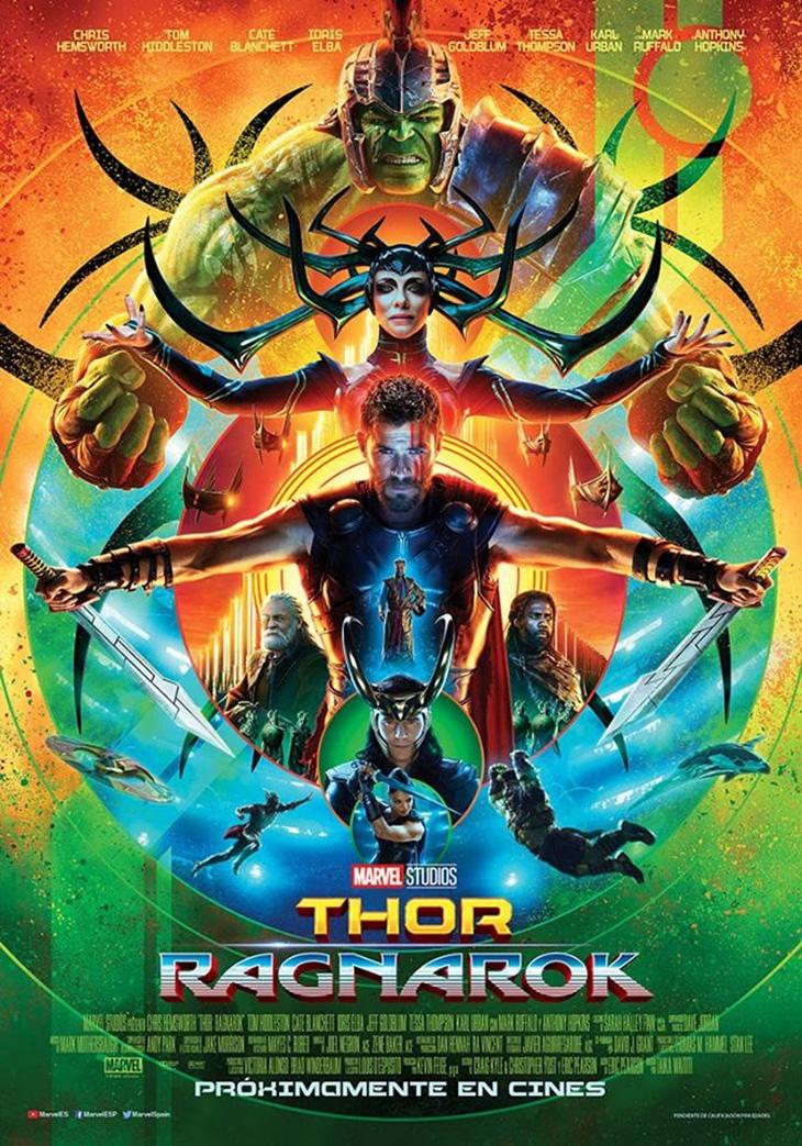 Póster de Thor: Ragnarok