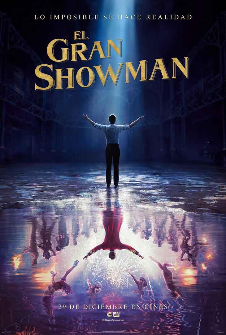 Póster de 'El Gran Showman'
