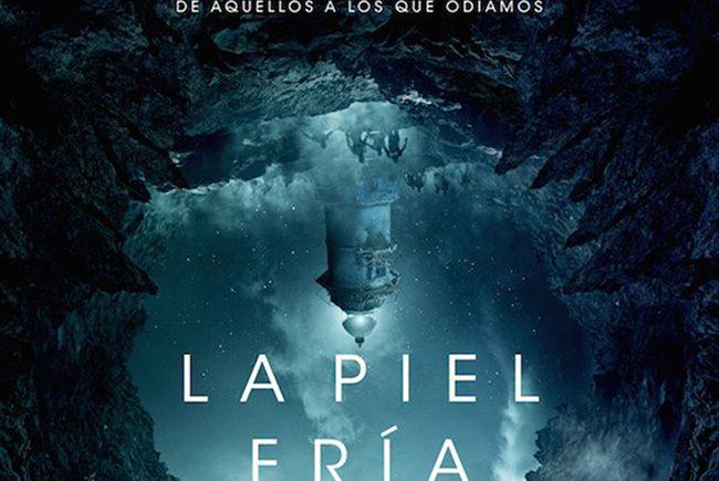 póster en español de 'La Piel Fría' destacada