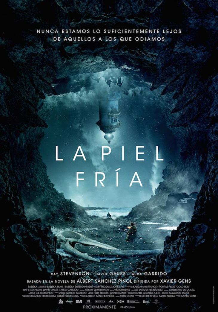 póster en español de 'La Piel Fría'