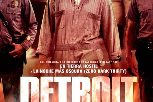 Cartel de la película 'Detroit'