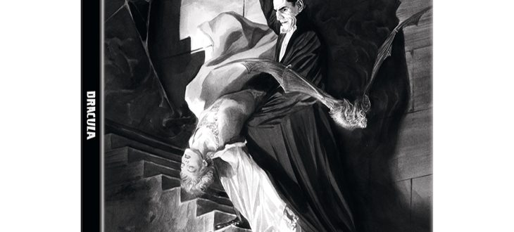 Carátula nuevo lanzamiento del clásico 'Drácula'