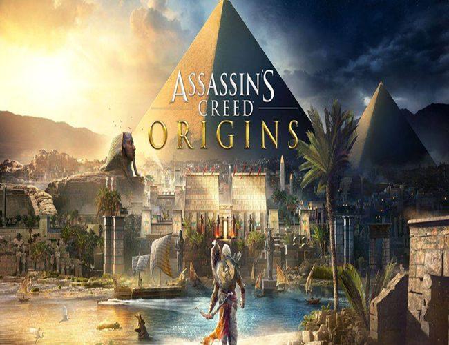 Carátula videojuego 'Assasin's Creed origins'