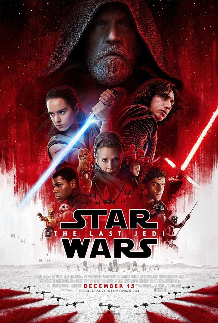 Cartel de Star War: Los últimos Jedi